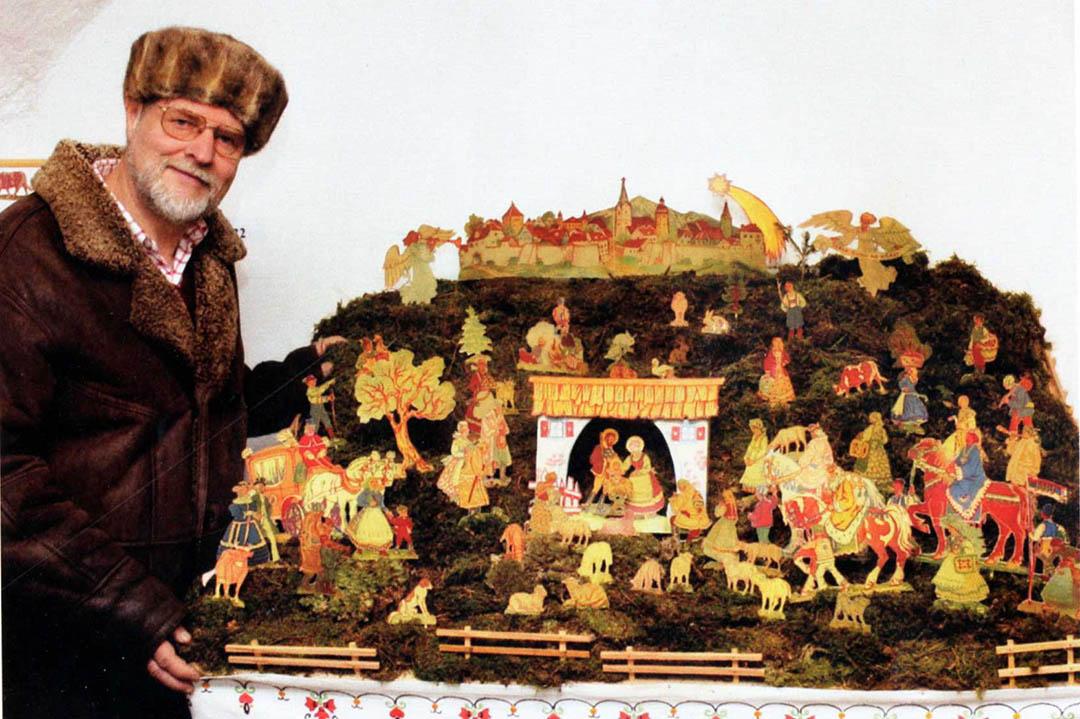 Marjan Marinšek in Gasparijeve Slovenske narodne jaslice